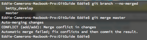 git merge command