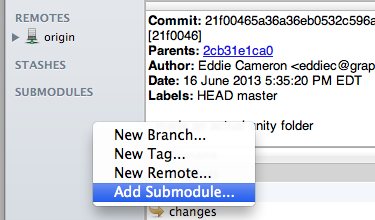 sourcetree add submodule